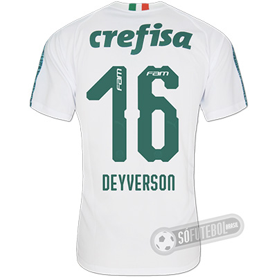 Camisa Palmeiras - Modelo II (DEYVERSON #16)