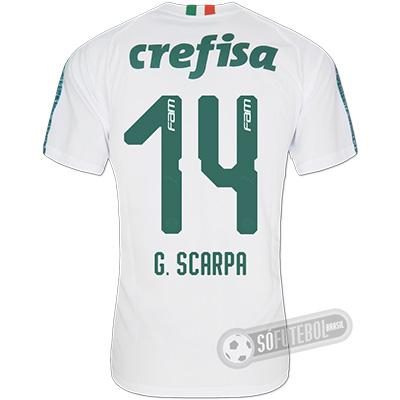 Camisa Palmeiras - Modelo II (G. SCARPA #14)