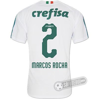 Camisa Palmeiras - Modelo II (MARCOS ROCHA #2)