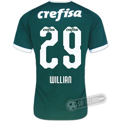Camisa Palmeiras - Modelo I (WILLIAN #29)