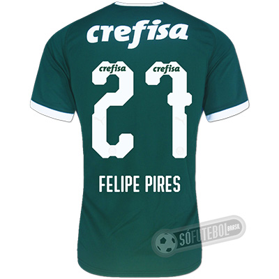 Camisa Palmeiras - Modelo I (FELIPE PIRES #27)