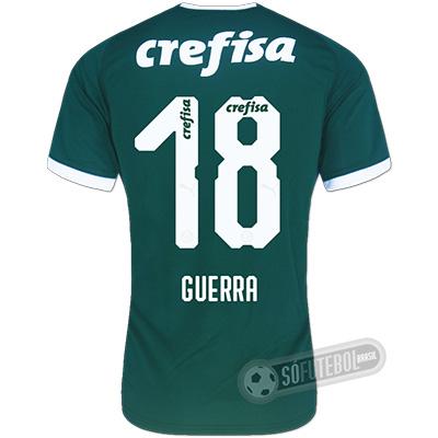 Camisa Palmeiras - Modelo I (A. GUERRA #18)