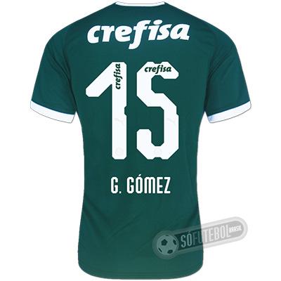 Camisa Palmeiras - Modelo I (G. GÓMEZ #15)