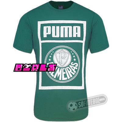 Camiseta Palmeiras - Feminina