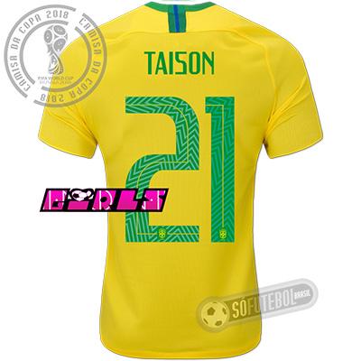 Camisa Brasil - Modelo I Feminina (TAISON #21)