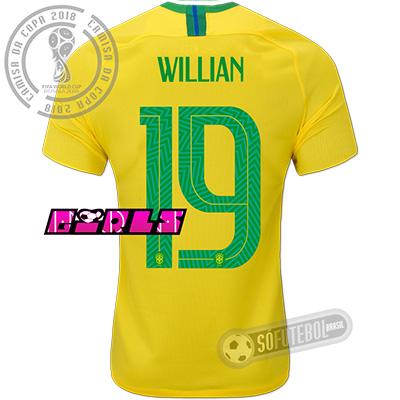 Camisa Brasil - Modelo I Feminina (FERNANDINHO #17)