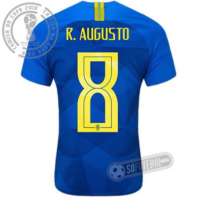 Camisa Brasil - Modelo II (R. AUGUSTO #8)