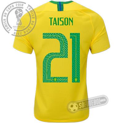 Camisa Brasil - Modelo I (TAISON #21)