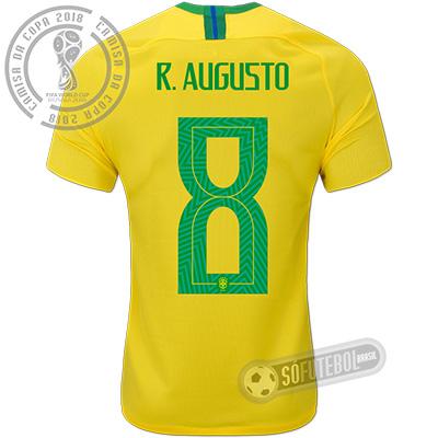 Camisa Brasil - Modelo I (R. AUGUSTO #8)