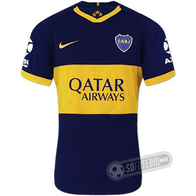 Camisa Boca Juniors - Modelo I