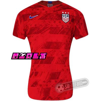 Camisa Estados Unidos - Modelo II Feminina