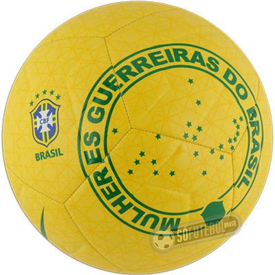 Bola Nike CBF Seleção Brasileira Feminina 2019 - Mulheres Guerreiras