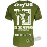 Camisa Palmeiras Edição Limitada (NICO FREIRE) - Decacampeão Brasileiro