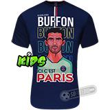 Camiseta PSG (Paris Saint Germain) - BUFFON Infantil