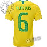 Camisa Brasil - Modelo I (FILIPE LUIS #6)