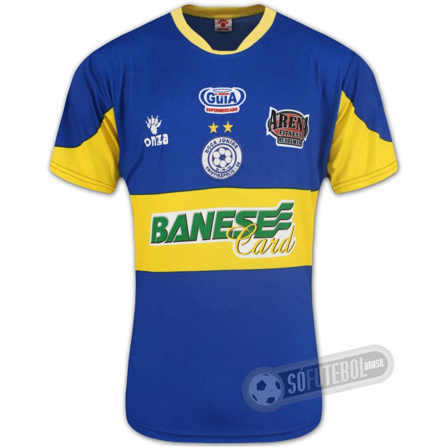 2f300d5fa1bcd Camisa Oficial Boca Júnior SE. Carregando.