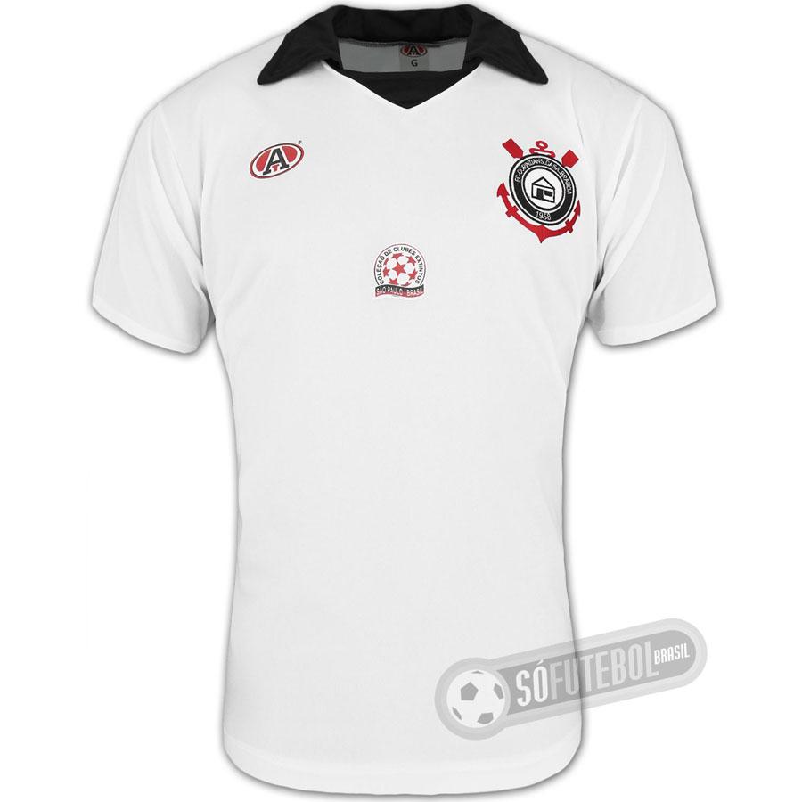 454d66e9e1 Camisa Corinthians de Casa Branca - Modelo I