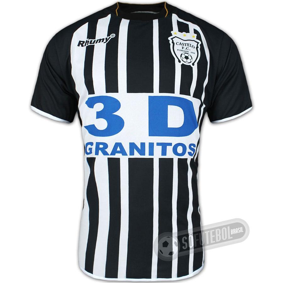 Camisa Oficial Castelo - Modelo I. Carregando. 6e26c7933d45d