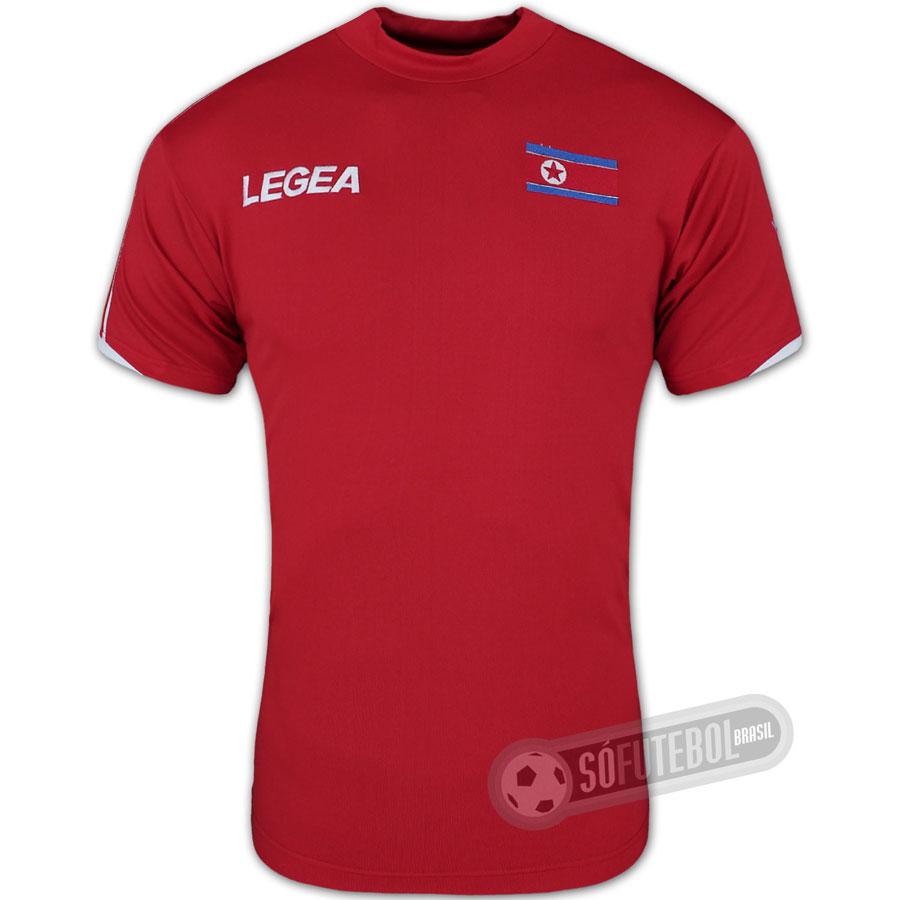 ed00bfe785 Camisa Coréia do Norte - Modelo I. Carregando.