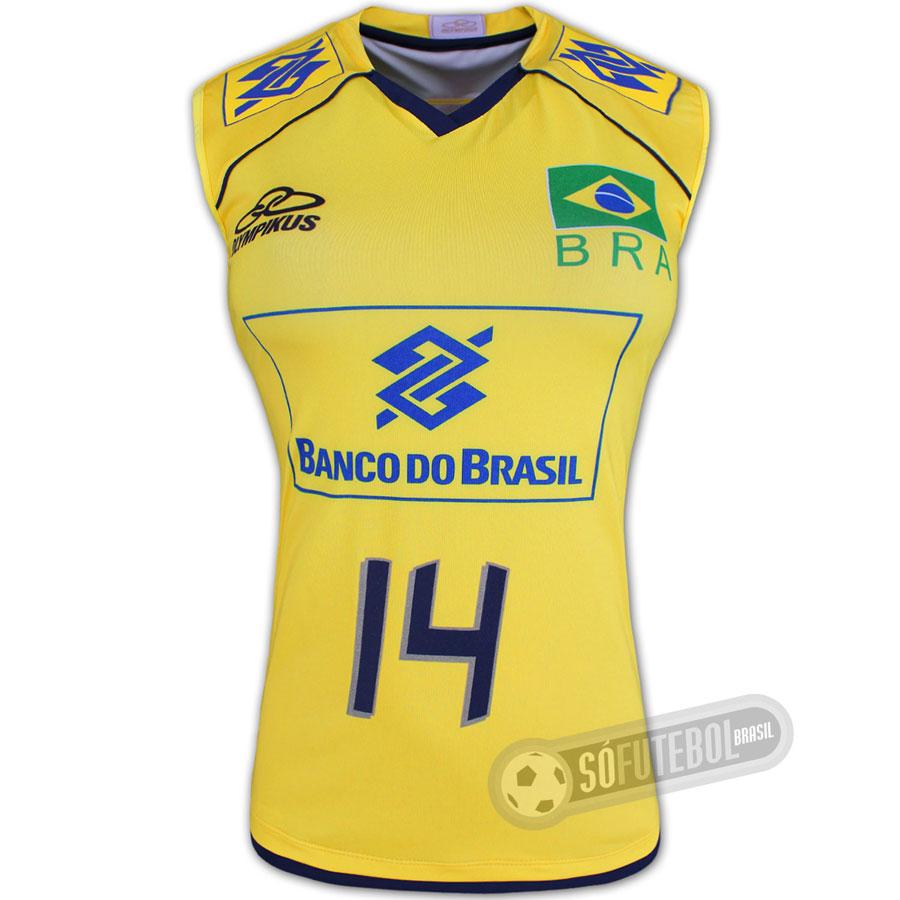 Regata Jogo Brasil - Vôlei - Feminina. Carregando. d5a4f9746ef01