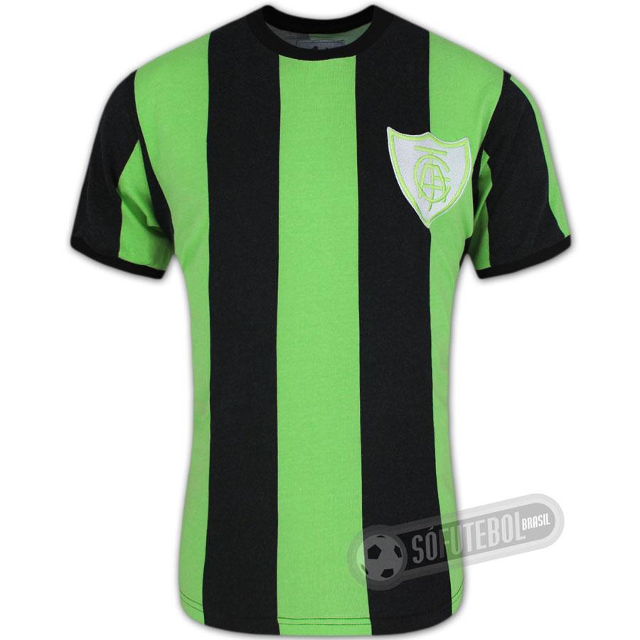 83bb2f9f76d8e Camisa América Mineiro 1971 - Modelo I - Liga Retrô