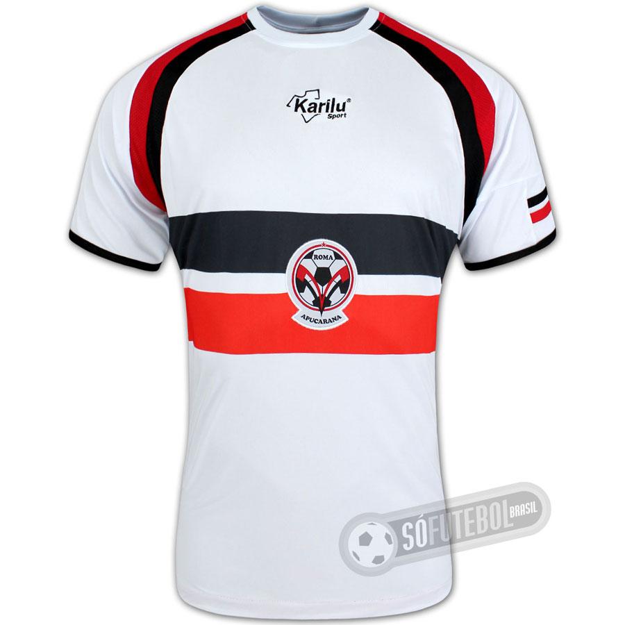 Camisa Roma Apucarana - Modelo II. Carregando. 15943412b76b1
