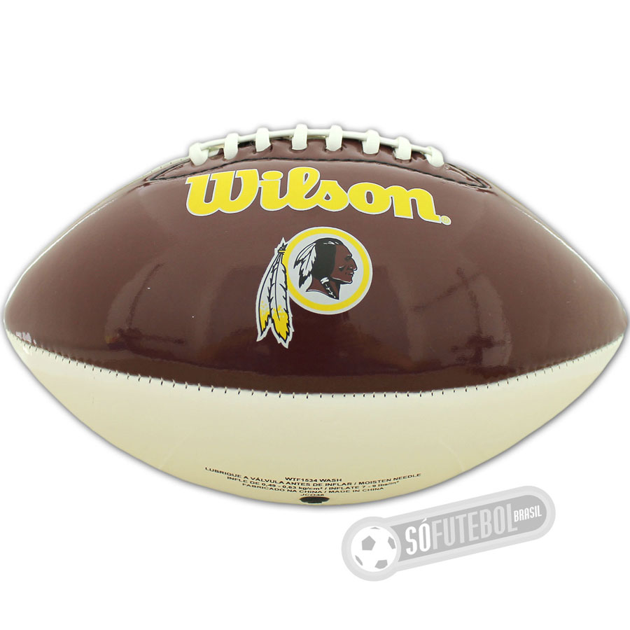 Bola Wilson NFL Team - Washington Redskins - Futebol Americano 3acd8d8f542b5