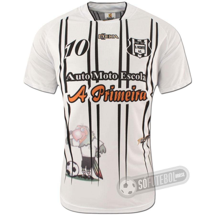 Camisa São Vicente - Modelo I dfa0ef566ea0a