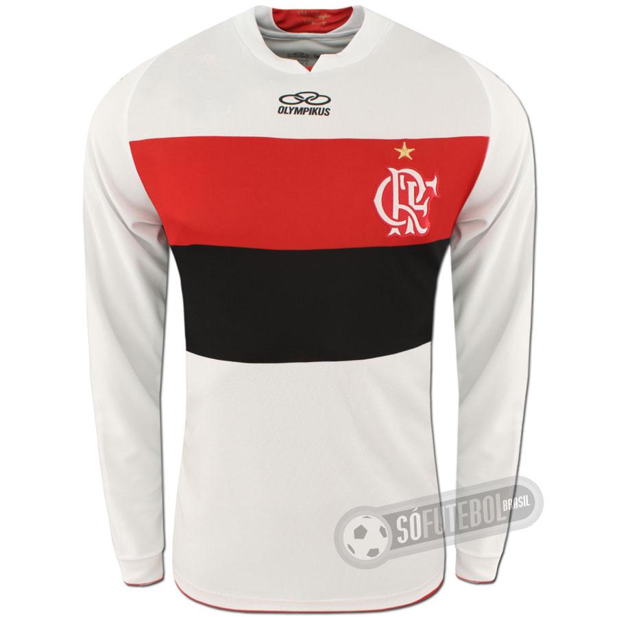 f74da0d539 Camisa Flamengo - Modelo II - Manga Longa. Carregando.