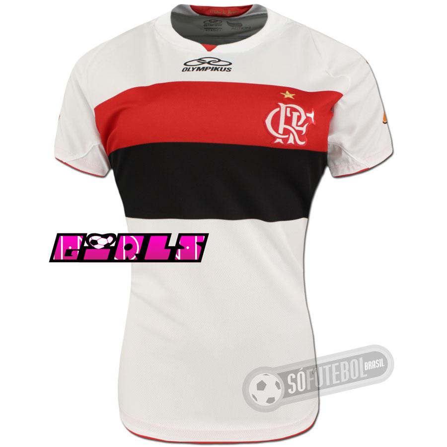 4a04015a35 Camisa Flamengo - Modelo II - Feminina. Carregando.