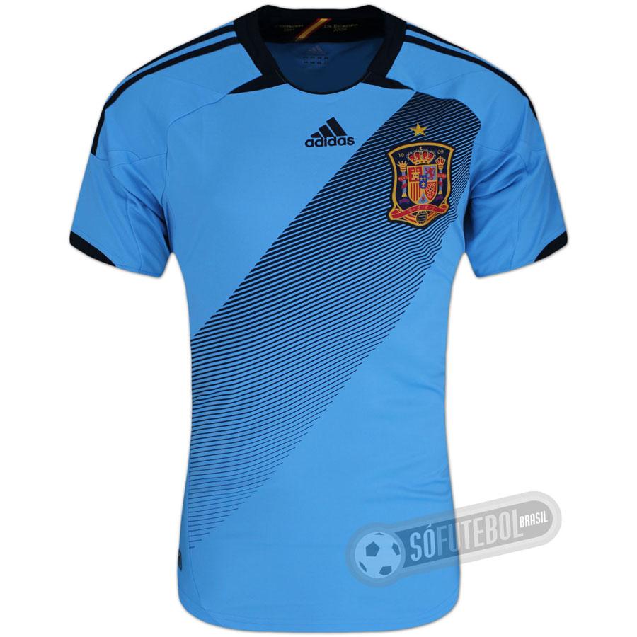 fbc395ff95 Camisa Espanha - Modelo II. Carregando.