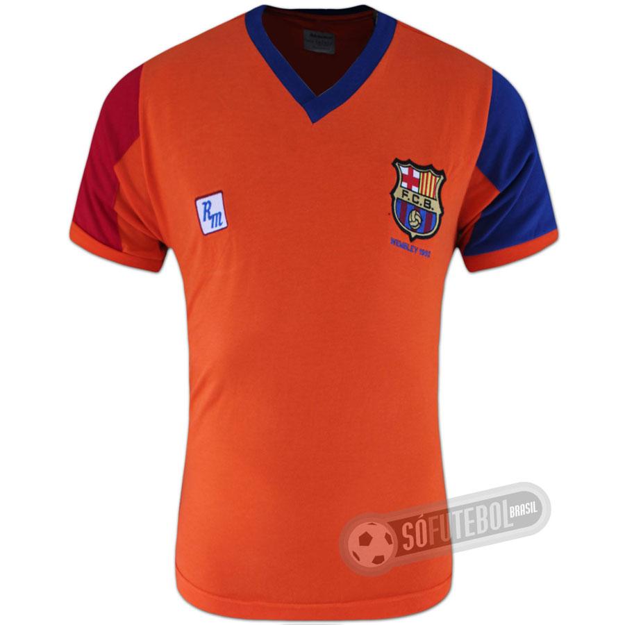 Camisa Barcelona 1992 - Modelo II. Carregando. f31e69db9b32e