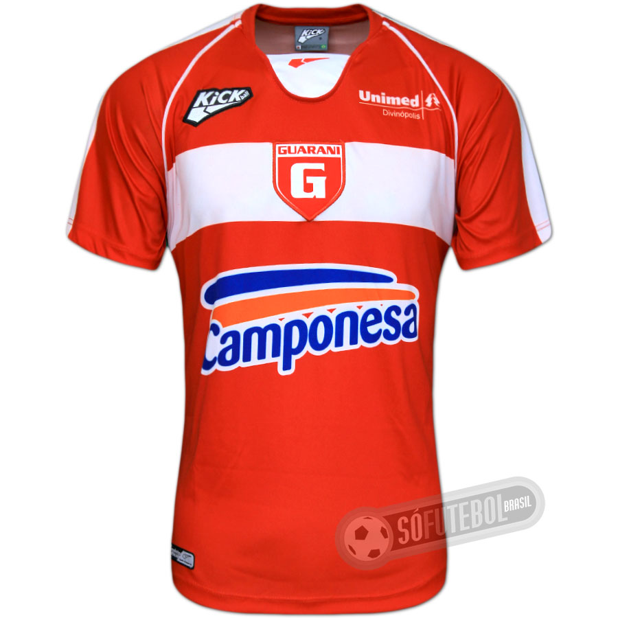 b252e19163 Camisa Guarani de Divinópolis - Modelo I. Carregando.