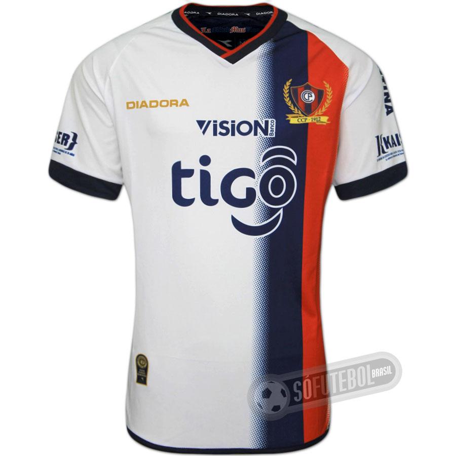 7c9db64e4610e Camisa Cerro Porteño - Modelo II