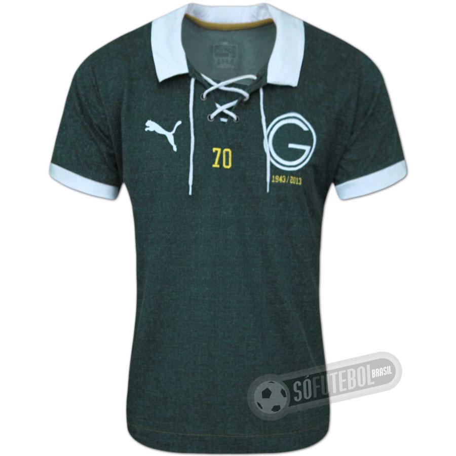 Camisa Goiás 70 anos - Modelo I 6555518b2c384