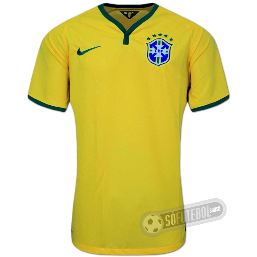 Camisa Brasil - Modelo I. Carregando. 155d8c01e9ec6