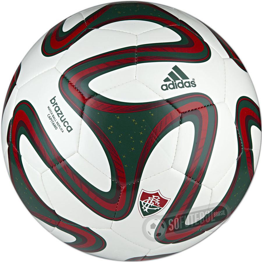 ab16854907 Mini Bola Adidas Brazuca WC 2014 - Fluminense