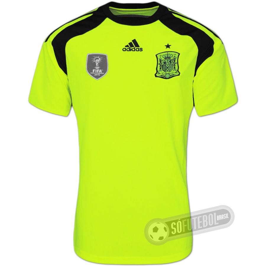406568a4fe Camisa Espanha - Goleiro. Carregando.