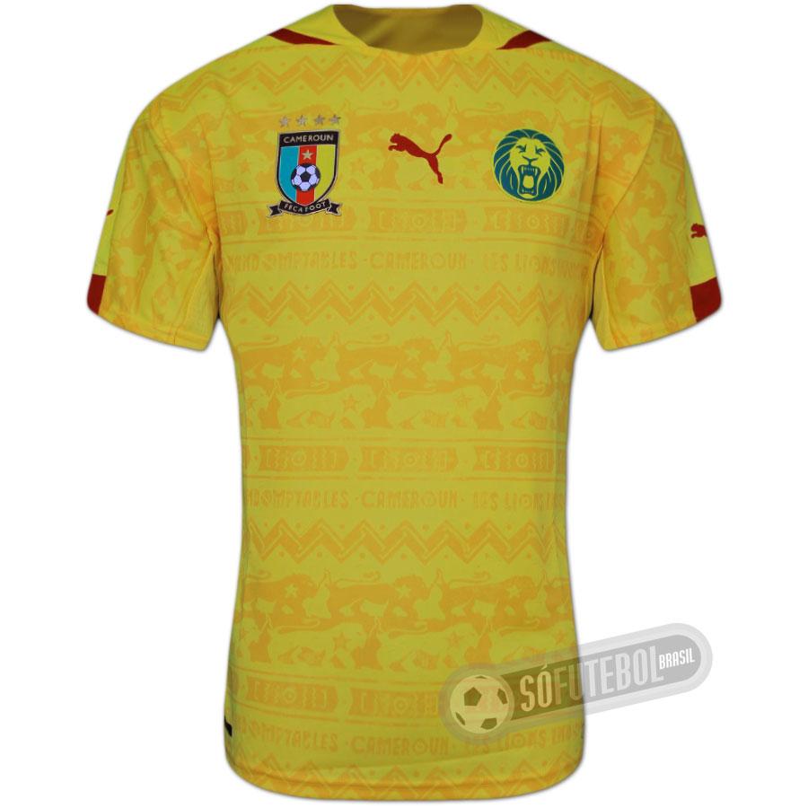 Camisa Camarões - Modelo II. Carregando. 9b1943adc9581