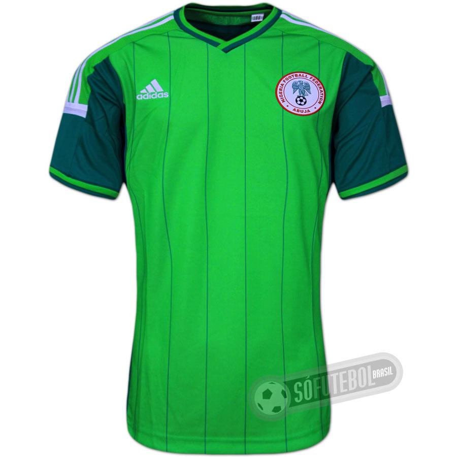 d0f1c4db6d Camisa Nigéria - Modelo I