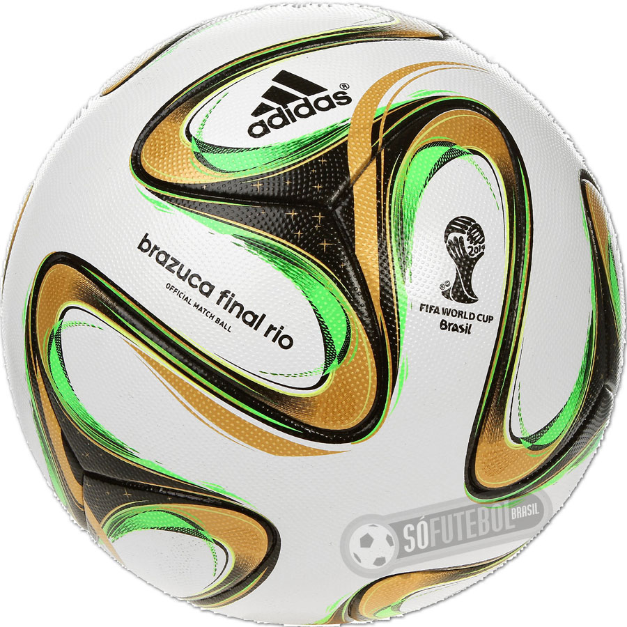 c25882c8ec24f Bola Adidas Brazuca WC 2014 - Final Rio - OMB (Official Match Ball)
