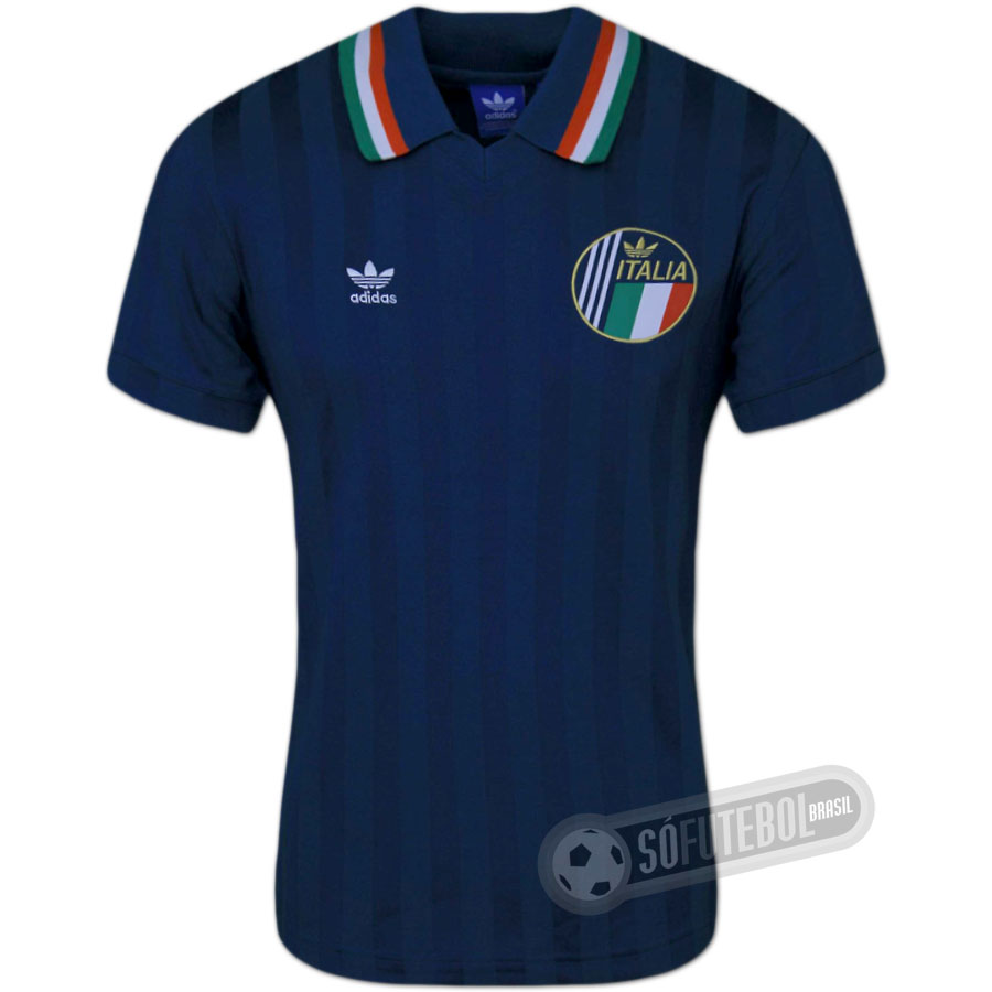 Camisa Itália 1990 - Modelo I. Carregando. d781608562a1b