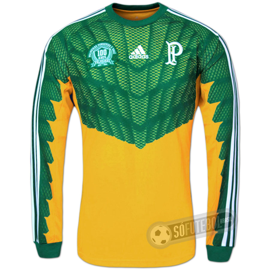Camisa Palmeiras Centenário - Goleiro 632a2ec2edd