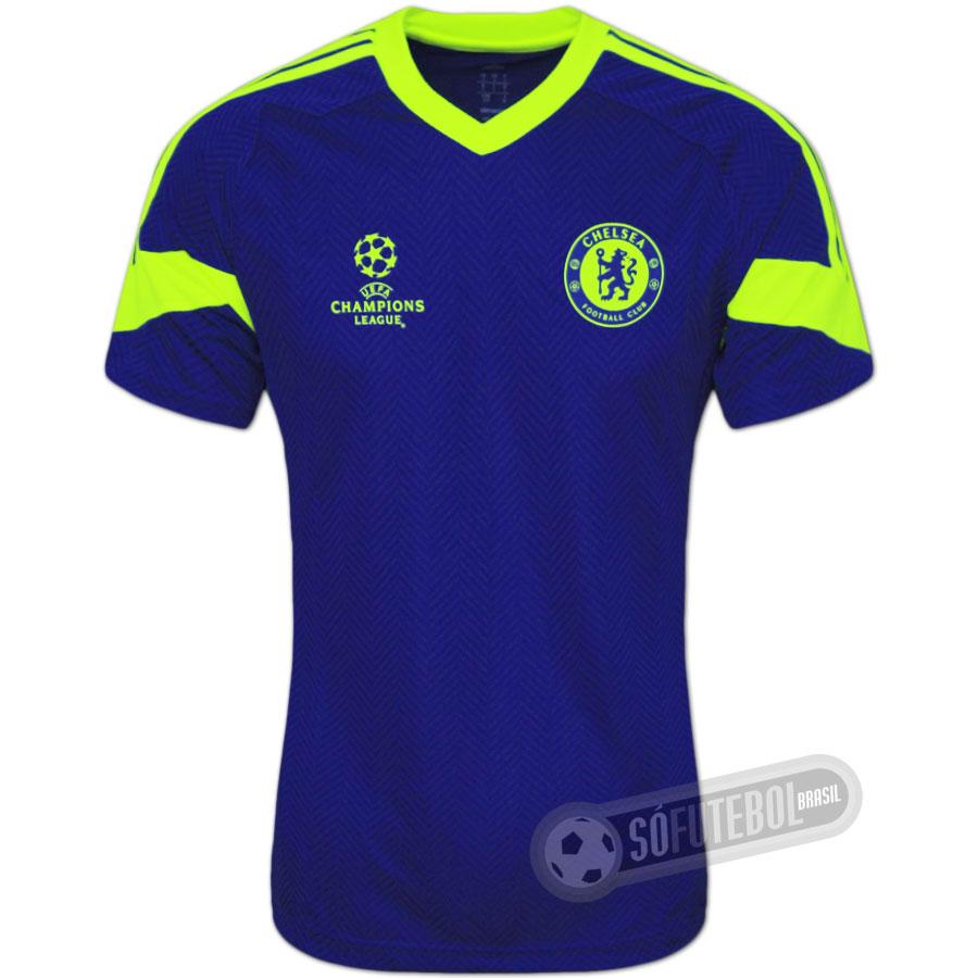 Camisa Chelsea Treino - Champions League b41c9c73d24f0