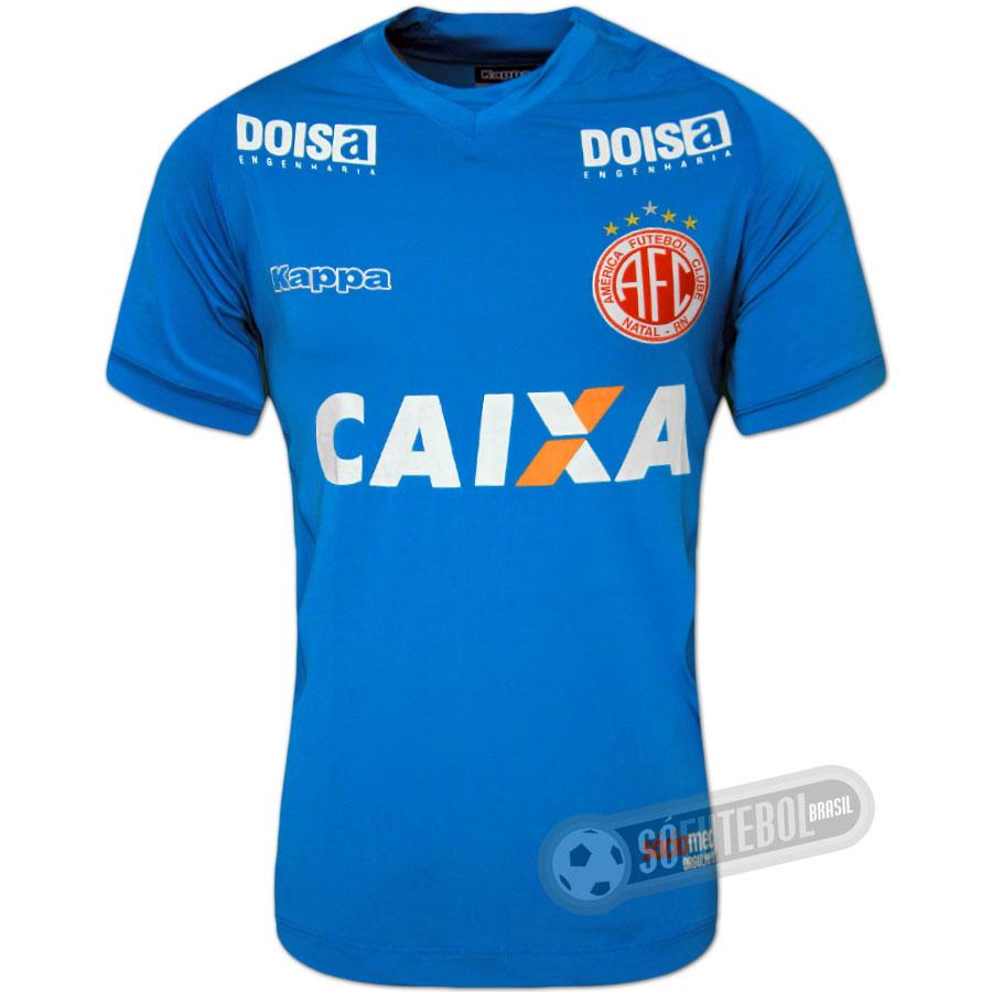 Camisa América de Natal - Modelo III 93c93717b72