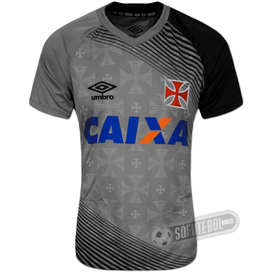 Camisa Vasco - Treino 4b566351e7e3c