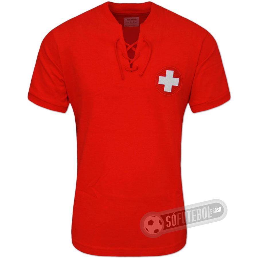 15844d171593b Camisa Suíça 1954 - Modelo I. Carregando.