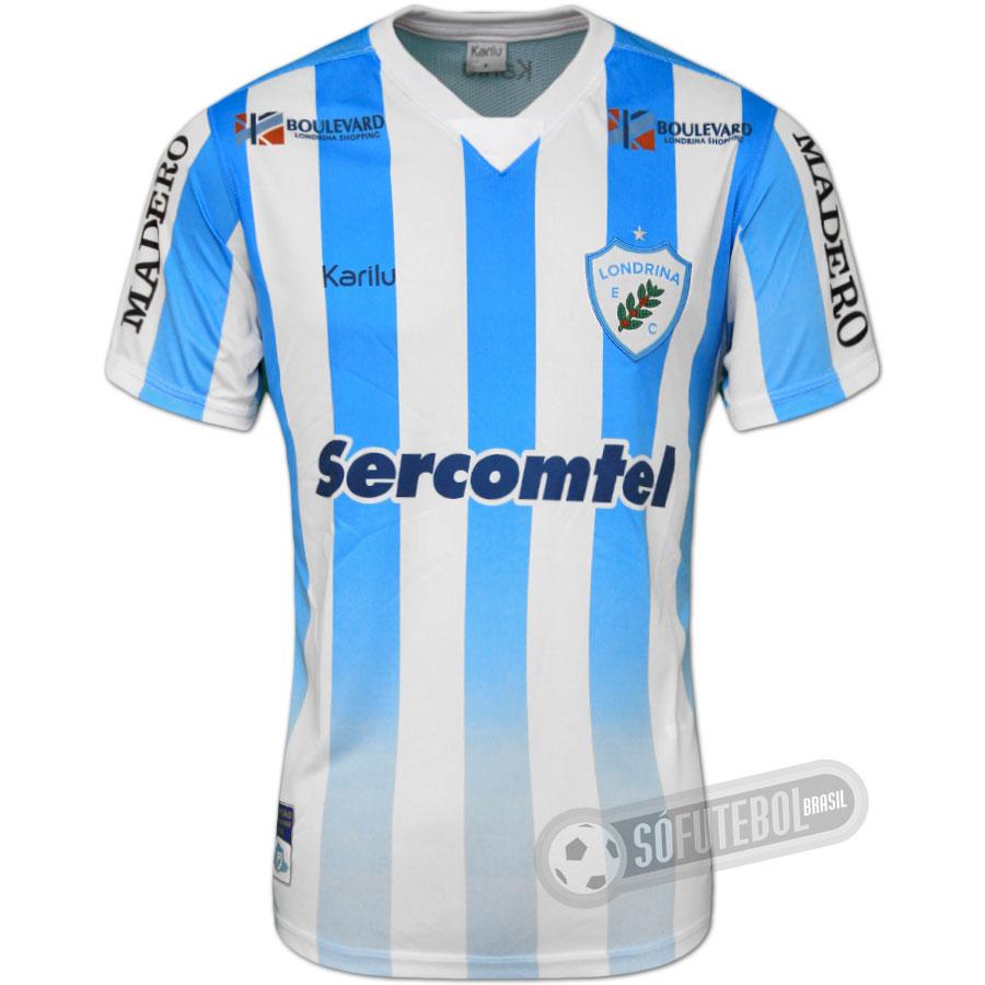 Camisa Londrina - Modelo I 55779c5543cfb