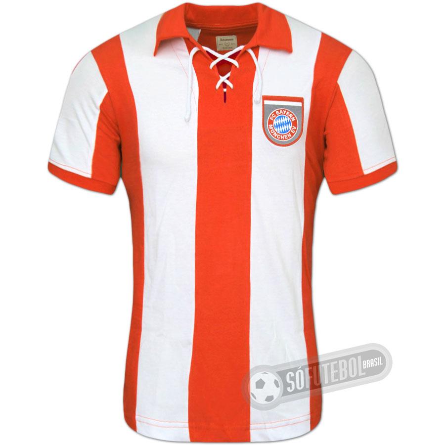 2039ba2539 Camisa Bayern München 1969 - Modelo I. Carregando.