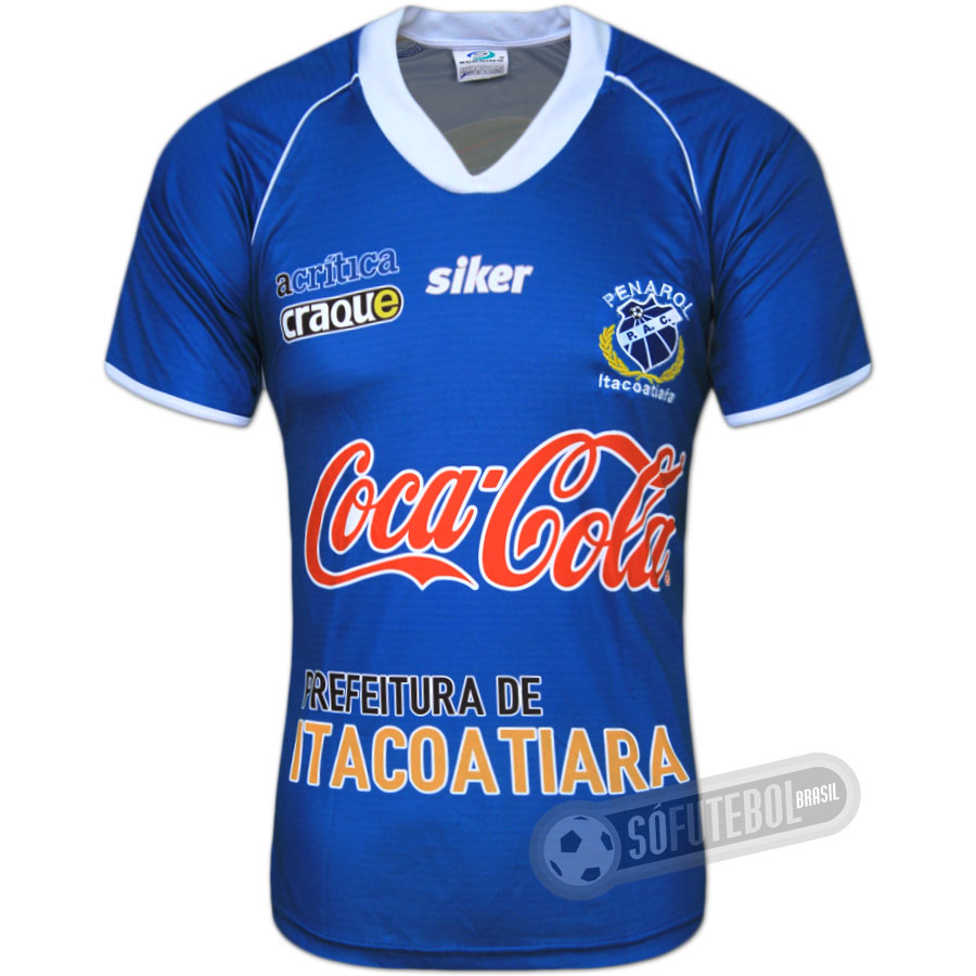 Camisa Penarol de Itacoatiara - Modelo I. Carregando. 8061a64ede124